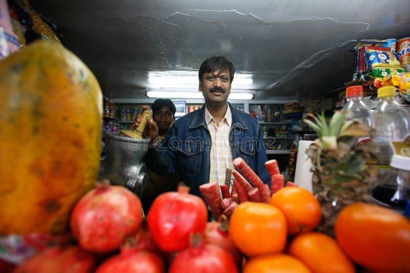 stångdelhi fruktsaft arkivfoto