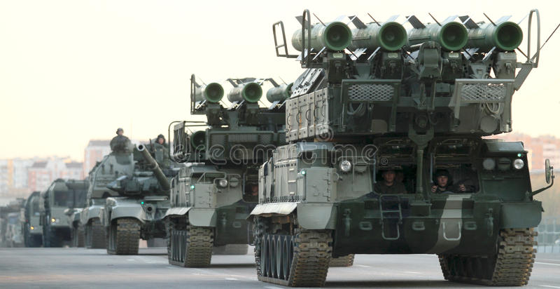 ståta repetitionen russia arkivbild