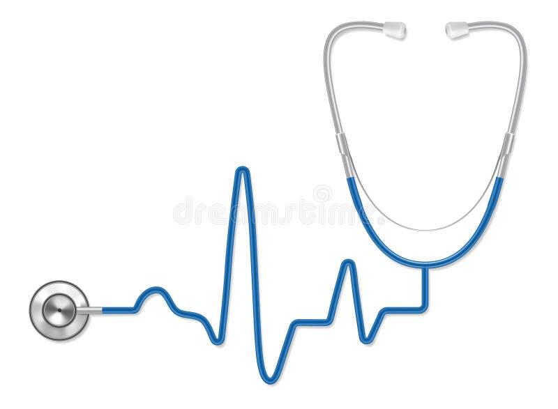 Stéthoscope illustration libre de droits
