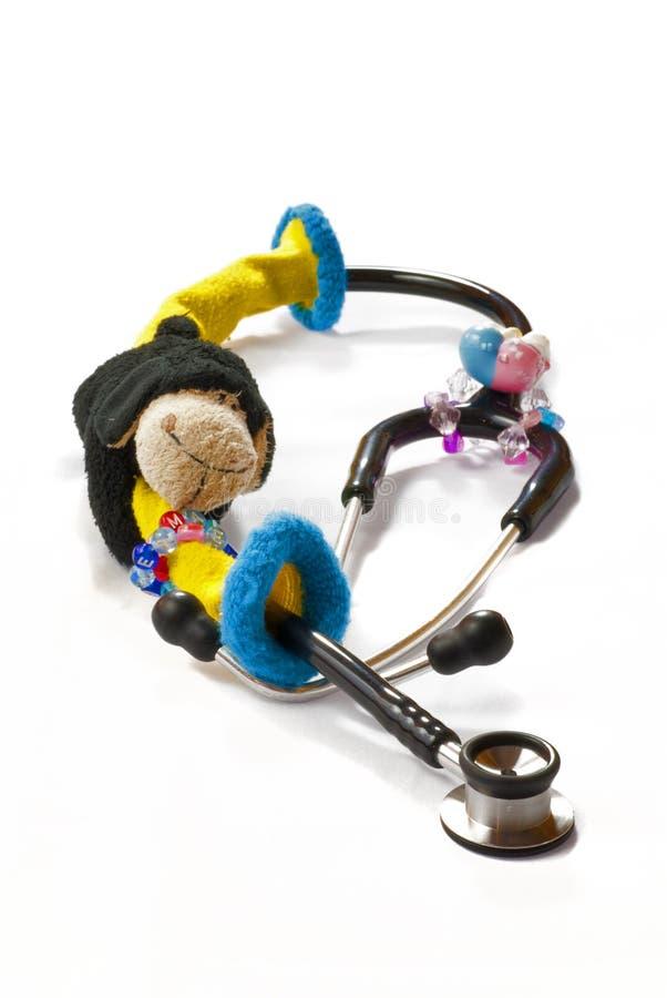 Stéthoscope infantile photographie stock