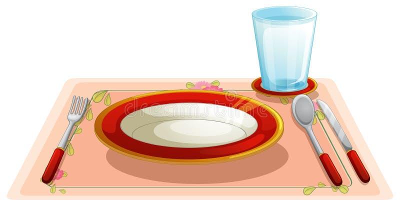 Stół ilustracja wektor