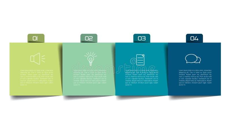 Stół, rozkład, organizator, planista, notepad, rozkład zajęć ilustracja wektor