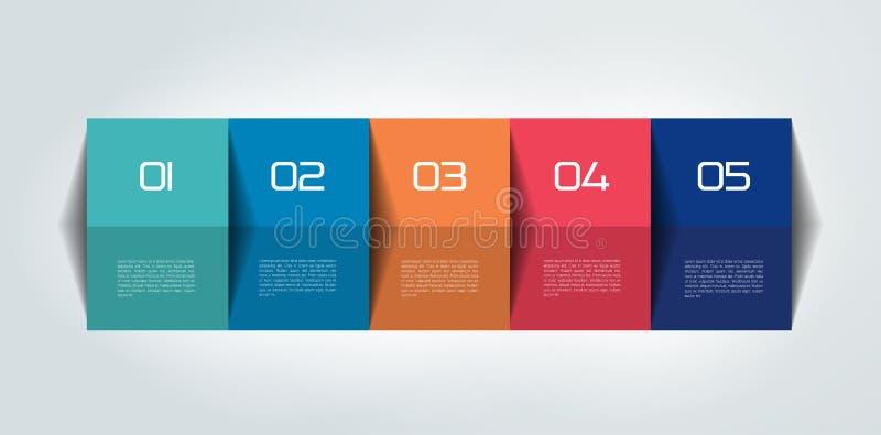 Stół, rozkład, szablon, linia czasu royalty ilustracja