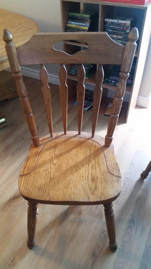 Stół z 6 krzesłami obrazy stock