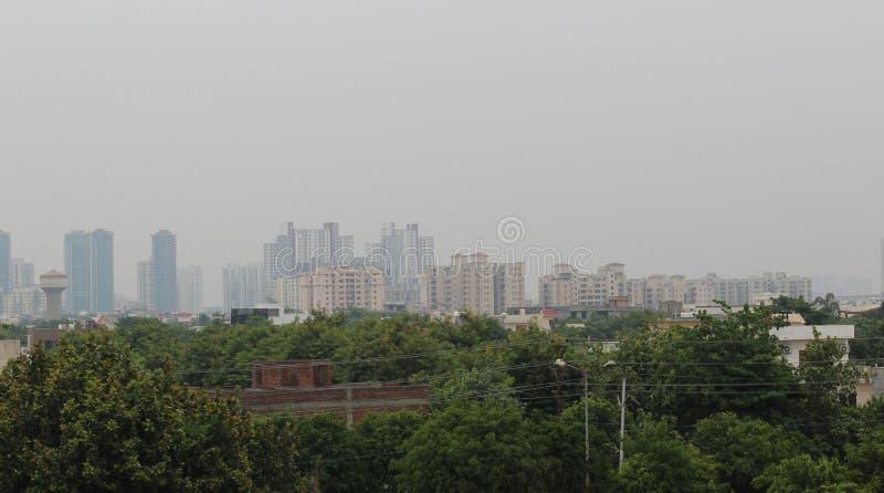 Större Noida arkivbild