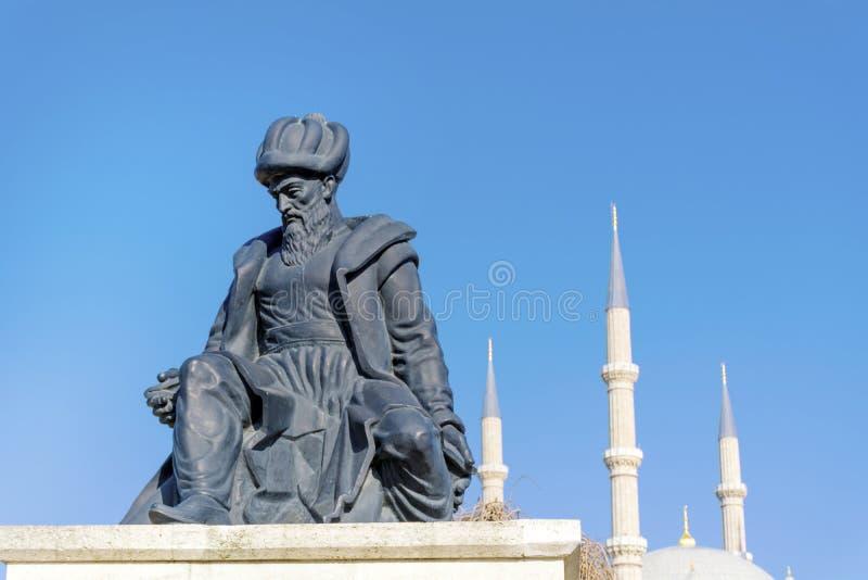 störst kalkon för edirne moskéselimiye royaltyfri bild