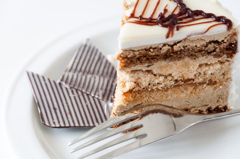 Stück des Kuchens lizenzfreie stockfotos