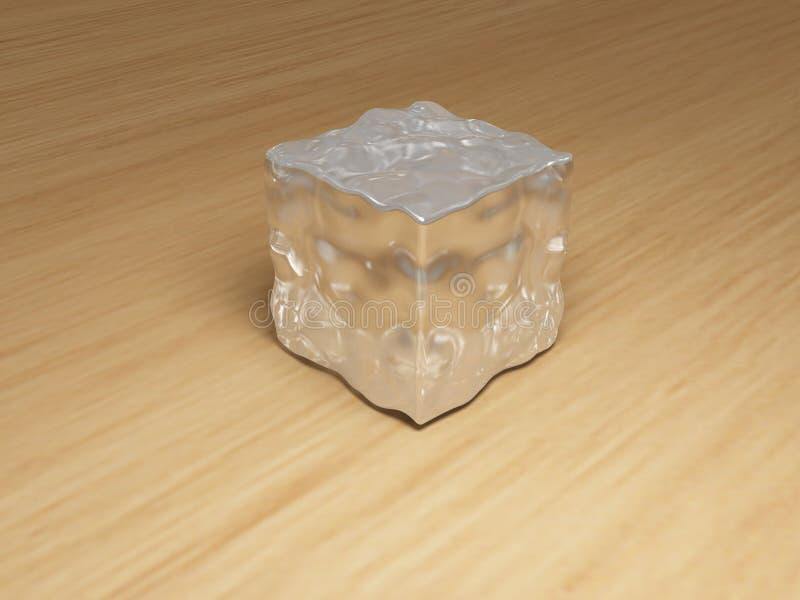 Stück Eis lizenzfreies stockfoto