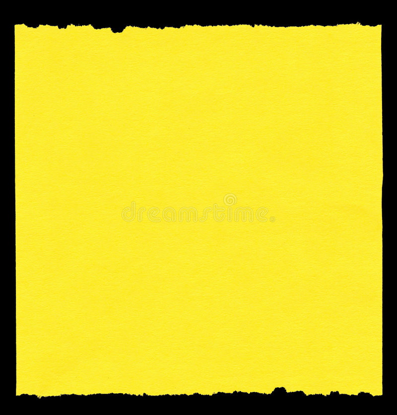 Stück gelbes Papier vektor abbildung