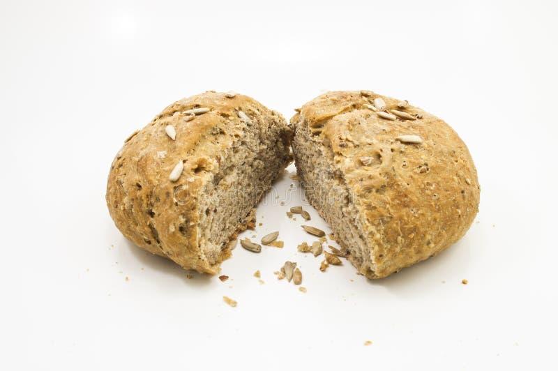 Stück-italienisches Brot stockfoto