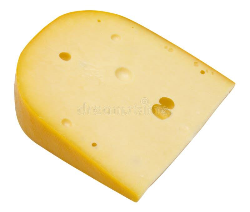 Stück Käse lizenzfreies stockfoto