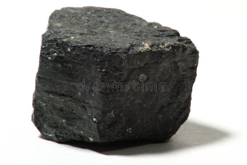 Stück Kohle stockbild