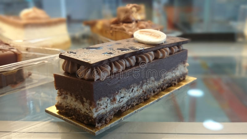 Stück Kuchen Ù 'Ø·'اتو Ø-¹ Ø© Ù lizenzfreies stockbild