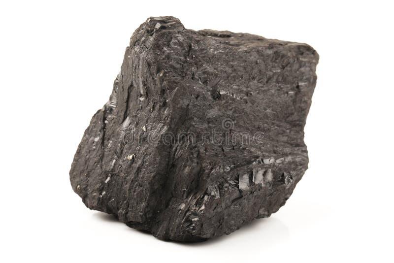 Stück schwarze Kohle lizenzfreie stockbilder