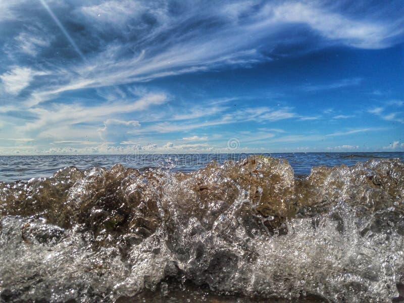 Stück von Ozean ist Welle lizenzfreies stockbild