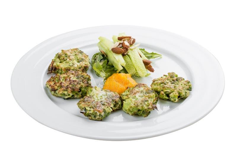 Stückchen des Brokkolis lizenzfreies stockfoto