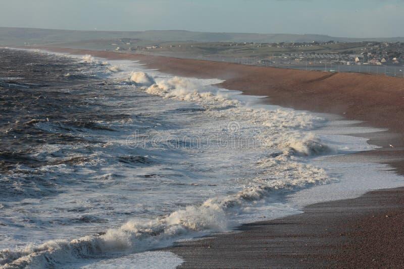 Stürmische Meere stockbild