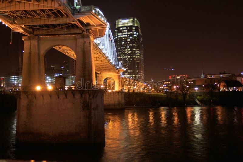 Stürmische Nacht in Nashville lizenzfreie stockbilder
