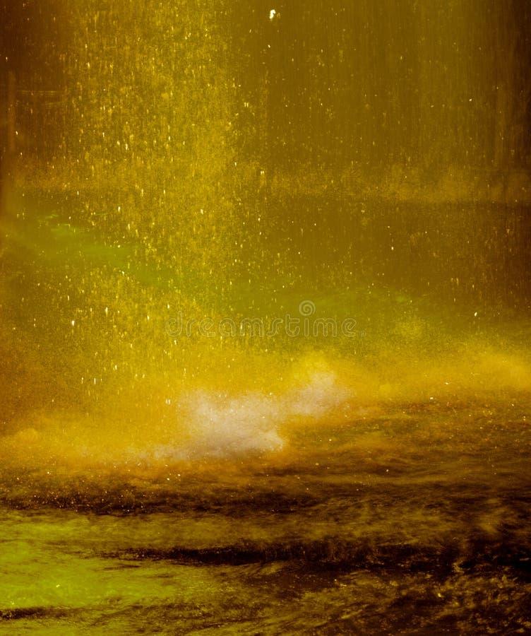 Stürmischer Regen lizenzfreies stockfoto