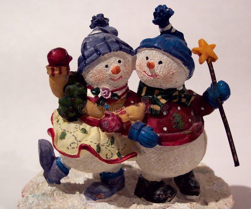 Download Stürzen durch den Schnee stockbild. Bild von snowman, lustig - 25621