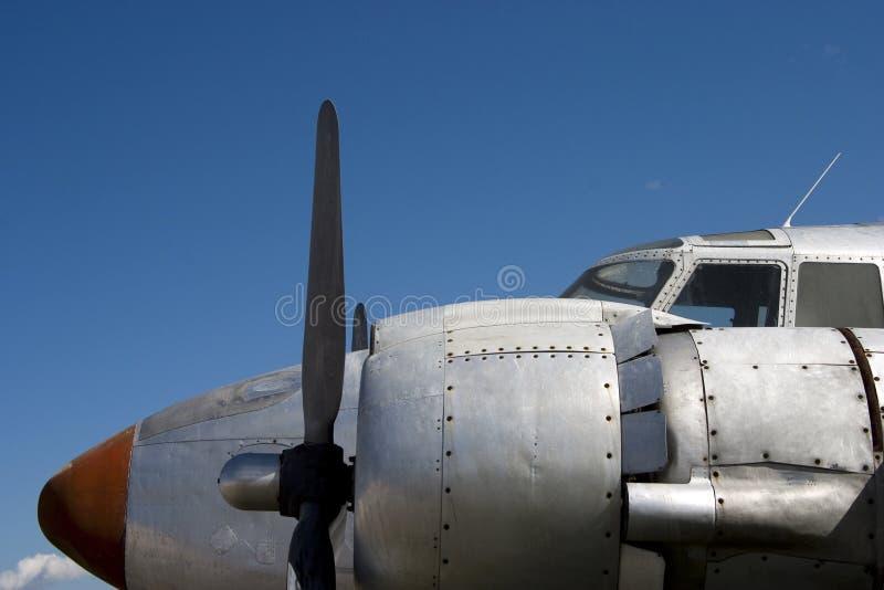 Stütze-Flugzeug 1 stockbild