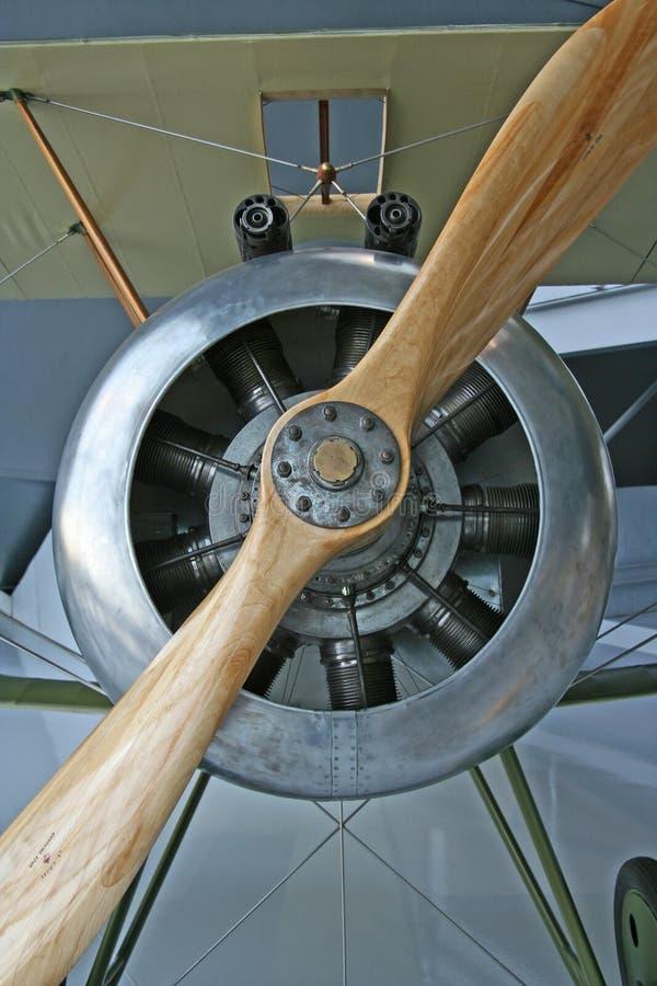 Stütze-Flugzeug stockbilder