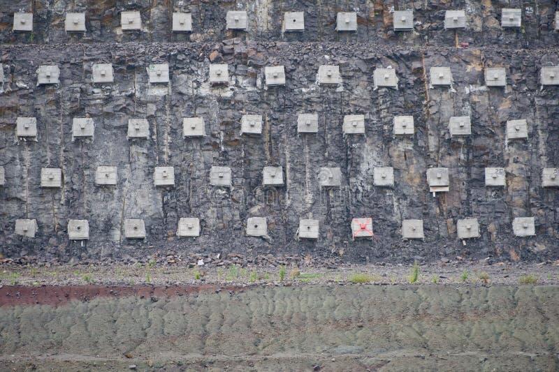Stützmauer lizenzfreies stockfoto