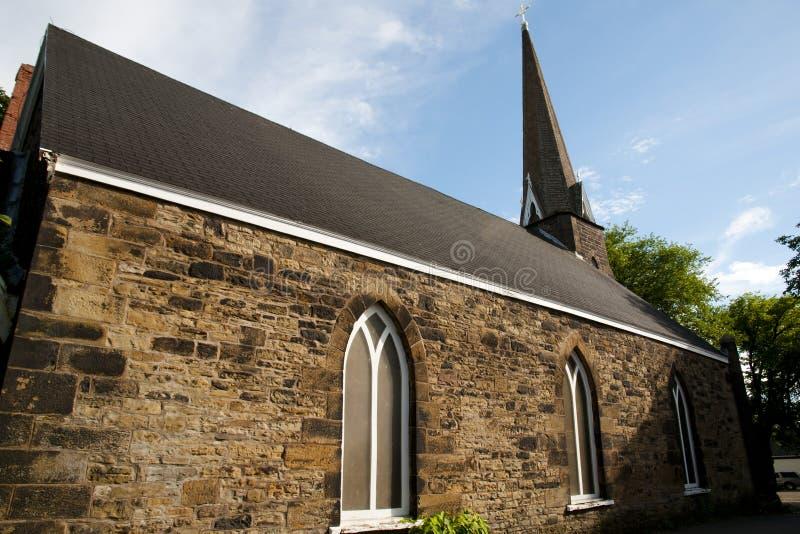 St乔治教会-悉尼-新斯科舍 免版税库存照片