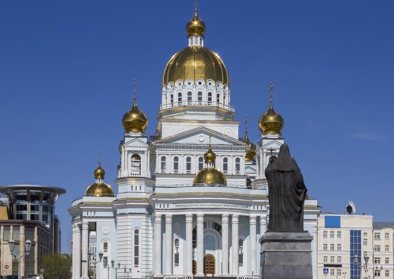 St公正的战士Feodor Ushakov大教堂  免版税库存照片