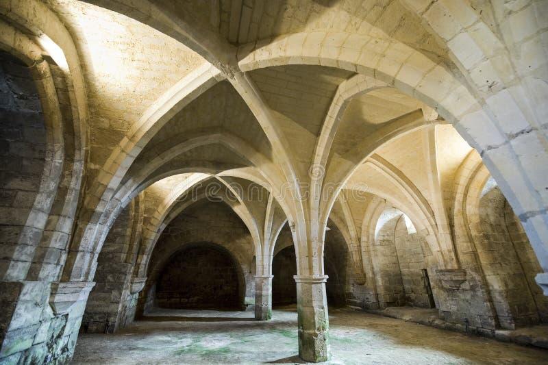 St吉恩des Vignes修道院在Soissons的 免版税图库摄影