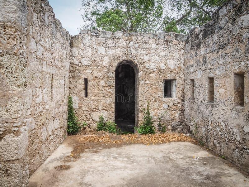St米谢尔堡垒库拉索岛景色 免版税库存图片