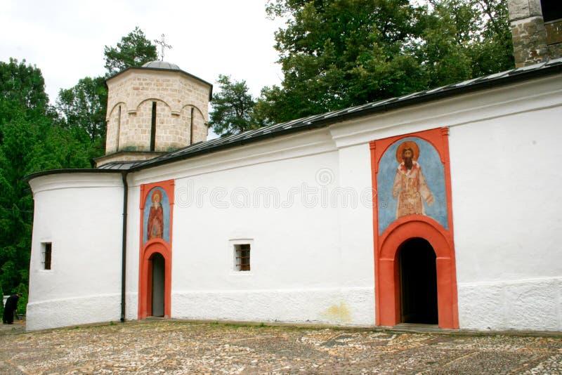 St罗马正统修道院 免版税库存照片