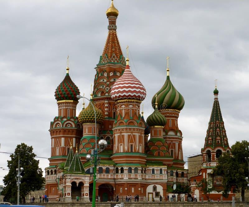 St蓬蒿莫斯科`的s红场` s大教堂 免版税库存照片