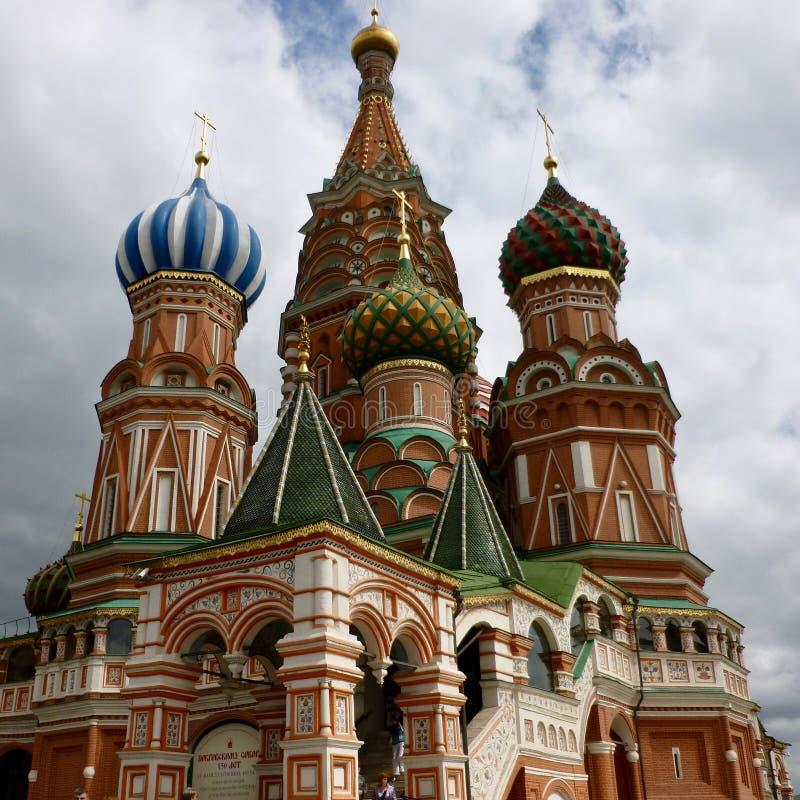 St蓬蒿莫斯科`的s红场` s大教堂 库存图片