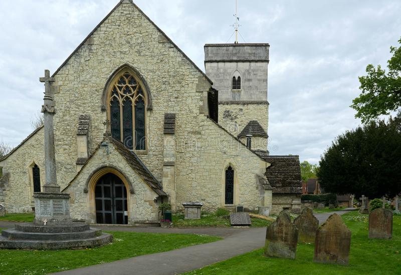 St迈克尔斯教会,Betchworth,萨里,英国 免版税库存照片