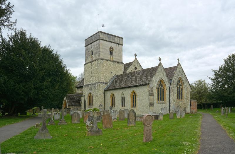 St迈克尔斯教会,Betchworth,萨里,英国 库存图片