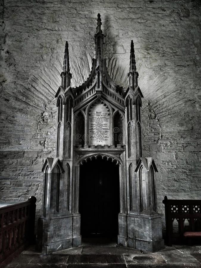 St迦太基大教堂, Lismore,爱尔兰 免版税库存照片