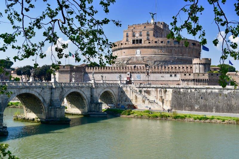 ST Ángel del castillo de Roma imagen de archivo libre de regalías