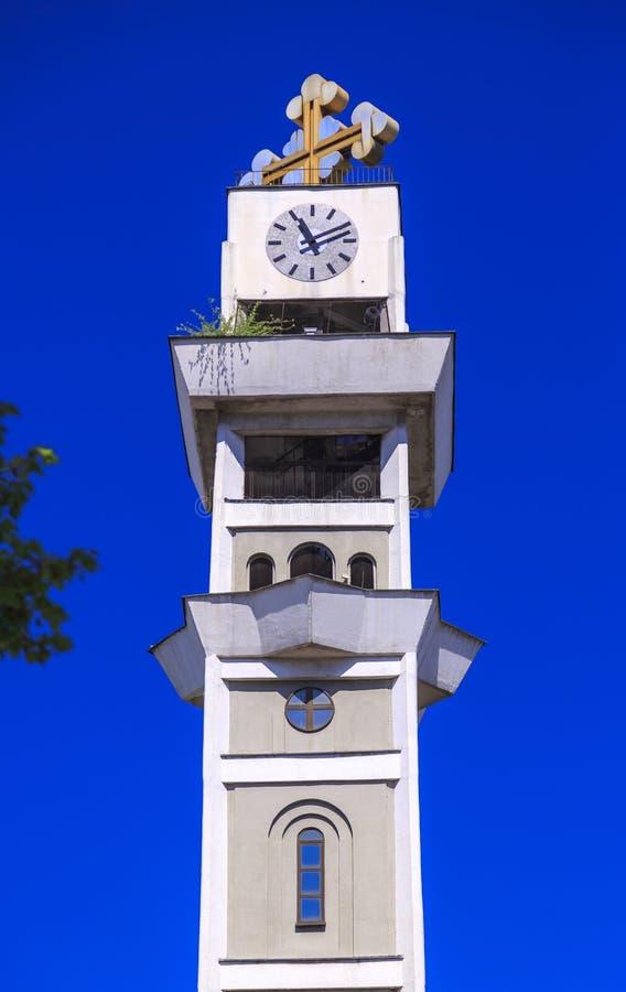 St Łagodny Ohrid lub Kliment Ohridski kościół w Skopje zdjęcia royalty free