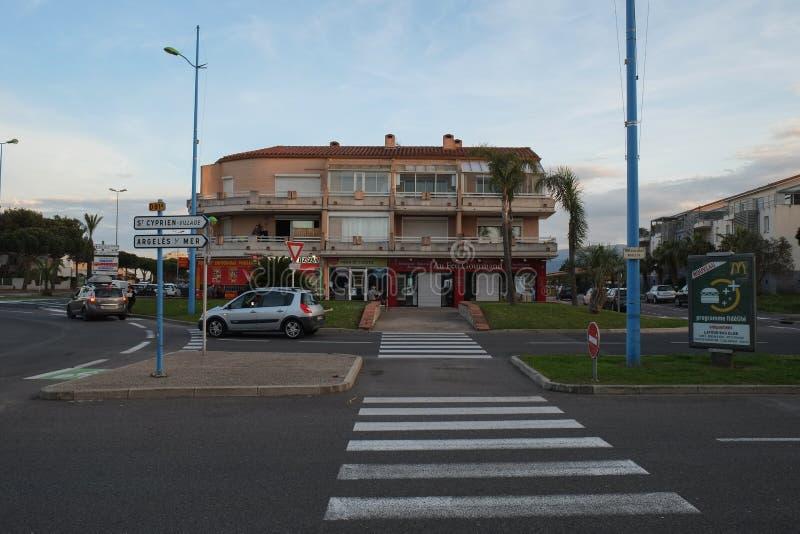 ST Κυπριανός, Λανγκντόκ-Ρουσιγιόν, Γαλλία στοκ εικόνες