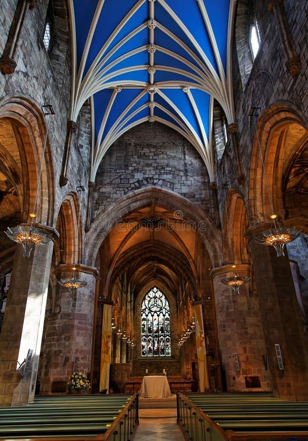 st Великобритания Шотландии giles edinburgh собора стоковые изображения rf