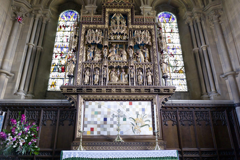 st Великобритания woburn mary s церков стоковая фотография