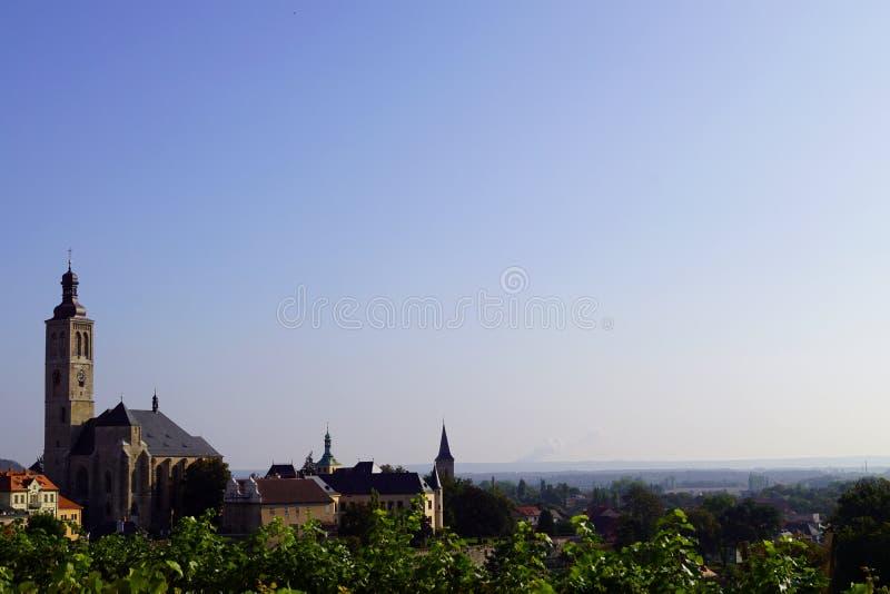 St Джейкоб и голубое небо церков стоковое изображение rf