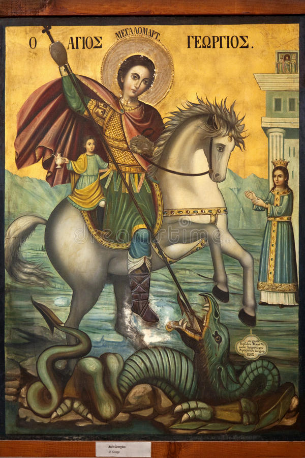 st иконы george дракона бесплатная иллюстрация