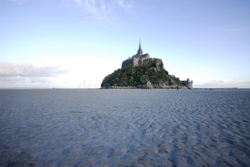 St Мишель Mont от Норт-Сайд стоковое изображение