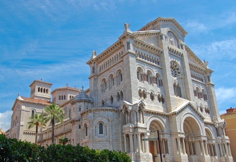 st Монако nicholas собора стоковое изображение