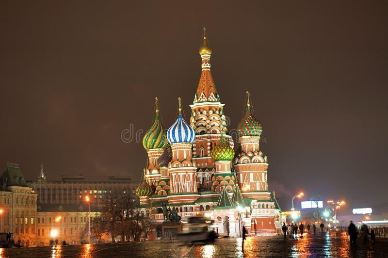st ночи собора базилика стоковое фото