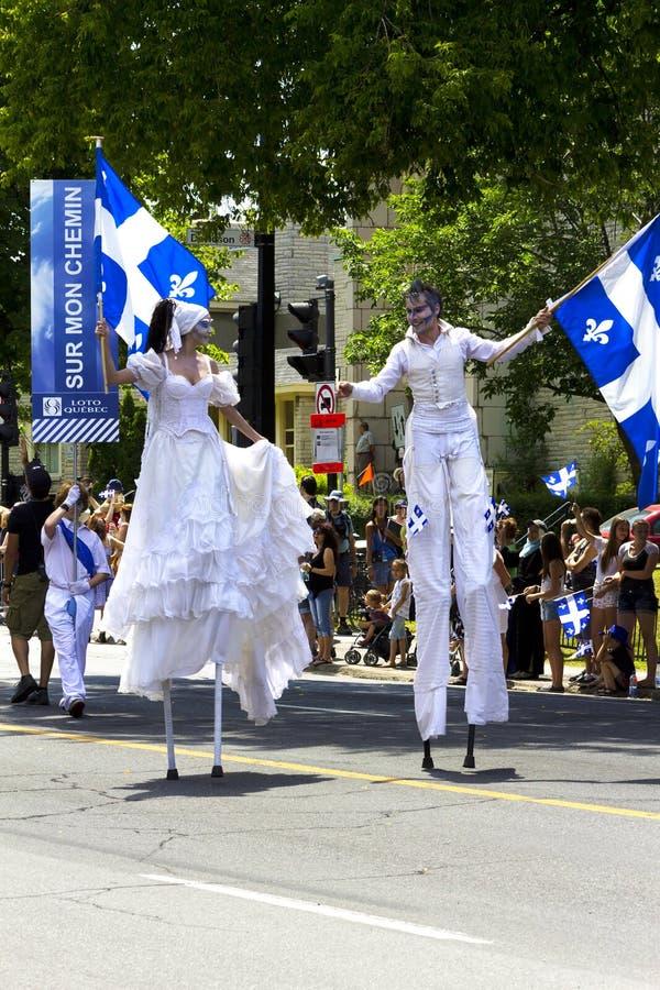 st парада montreal демикотона стоковая фотография rf