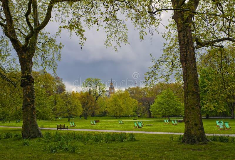 st парка Англии james london стоковое изображение