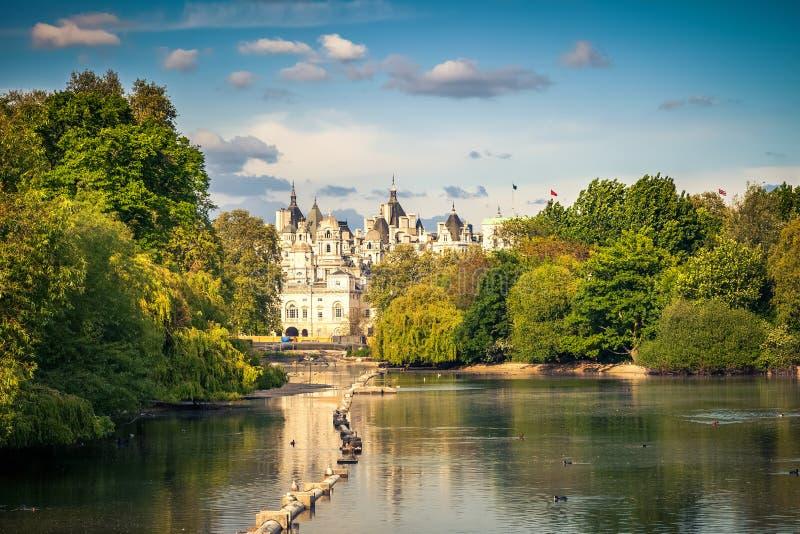 st парка james london стоковое изображение